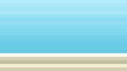 Blue and Beige Horizontal Striped Background Illustrator