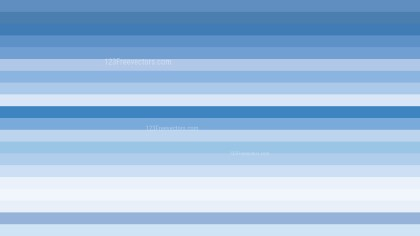 Blue and White Horizontal Striped Background