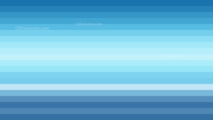 Blue and White Horizontal Striped Background Graphic