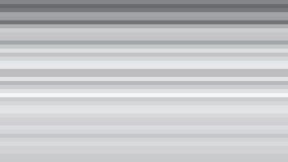 Grey Horizontal Stripes Background