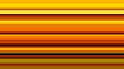 Orange and Black Horizontal Stripes Background Illustration