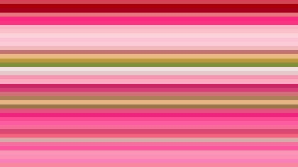Pink and Green Horizontal Stripes Background Vector Art