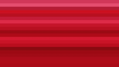 Red Horizontal Striped Background Vector