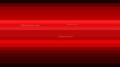 Cool Red Horizontal Striped Background
