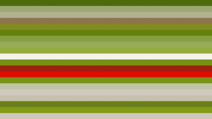 Red and Green Horizontal Striped Background Vector Art