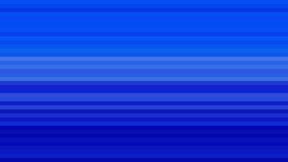 Royal Blue Horizontal Stripes Background