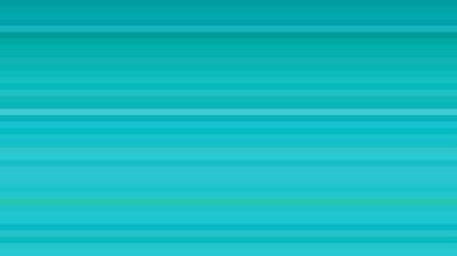 Turquoise Horizontal Stripes Background