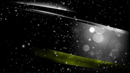Abstract Black Defocused Lights Background Design
