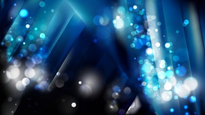 Abstract Black and Blue Blur Lights Background Design