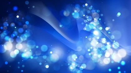 Abstract Black and Blue Defocused Background Image