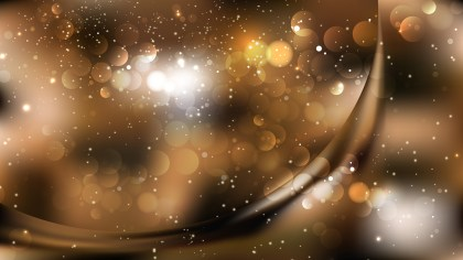 Abstract Black and Brown Blurred Bokeh Background