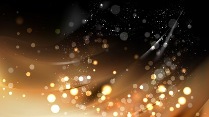 Abstract Black and Brown Blurred Bokeh Background Vector