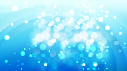 Abstract Blue Defocused Background