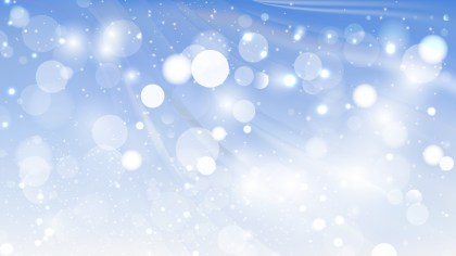 Abstract Blue and White Blur Lights Background Design