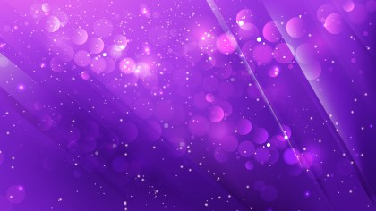 Abstract Bright Purple Blurry Lights Background