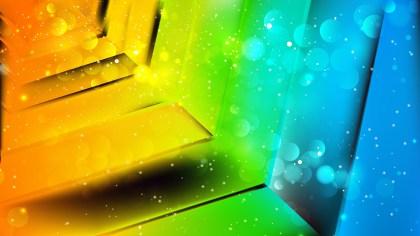Abstract Colorful Lights Background Image