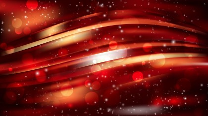 Abstract Cool Orange Blur Lights Background Design