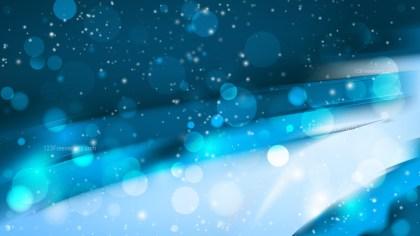Abstract Dark Blue Blurred Lights Background Vector