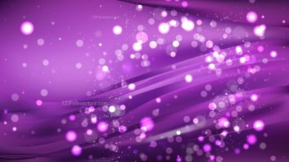 Abstract Dark Purple Blurred Bokeh Background