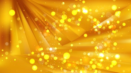 Abstract Gold Blurry Lights Background Image