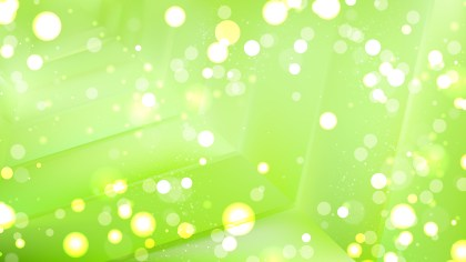 Abstract Green Blurred Bokeh Background