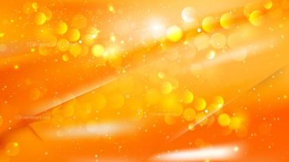 Abstract Orange Defocused Lights Background Design