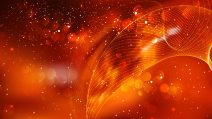 Abstract Orange and Black Defocused Background Design