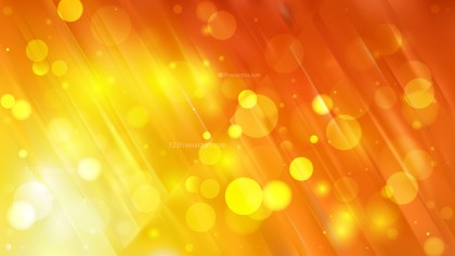 Abstract Orange and Yellow Lights Background