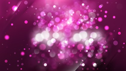 Abstract Pink and Black Bokeh Defocused Lights Background Vector