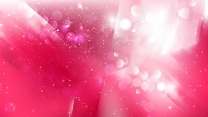 Abstract Pink and White Defocused Background