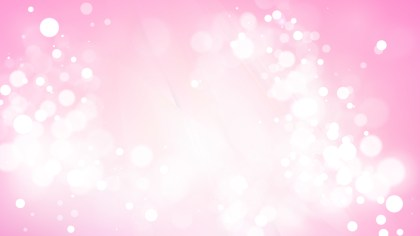 Abstract Pink and White Blur Lights Background Image
