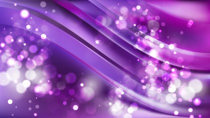 Abstract Purple Bokeh Background Image