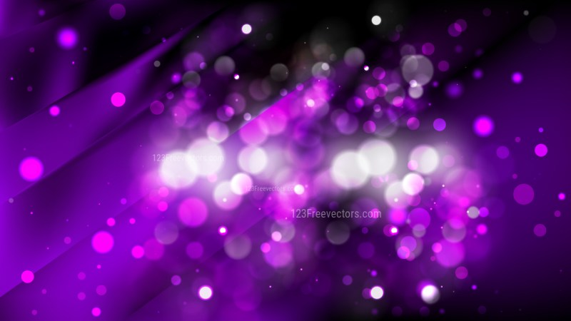 Abstract Purple and Black Defocused Background