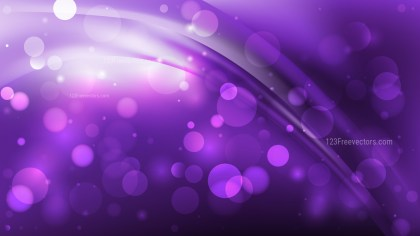 Abstract Purple and Black Lights Background Design