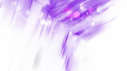 Abstract Purple and White Blurred Lights Background Image
