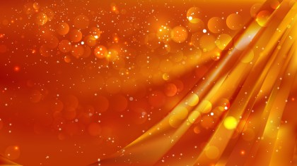 Abstract Red and Orange Bokeh Lights Background Vector