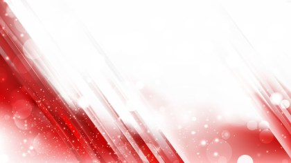 Abstract Red and White Bokeh Defocused Lights Background Image