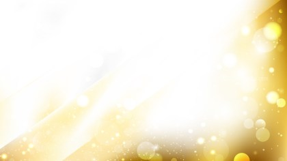 Abstract White and Gold Blur Lights Background Design