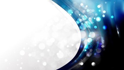 Abstract Black and Blue Business Background Template Image
