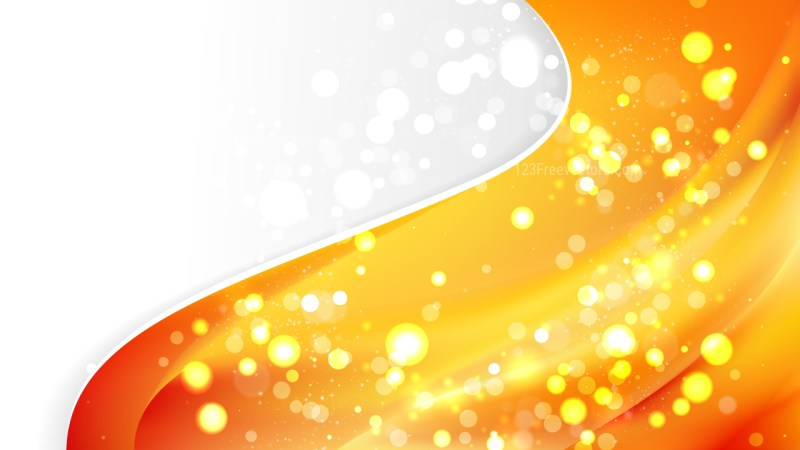 Orange Business Background Illustrator
