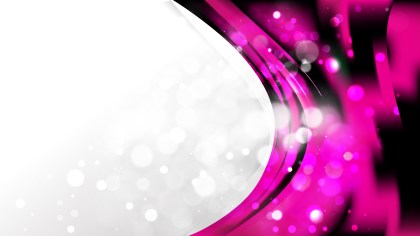 Abstract Pink and Black Brochure Design Template Vector Image