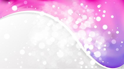 Pink and Blue Wave Business Background Design