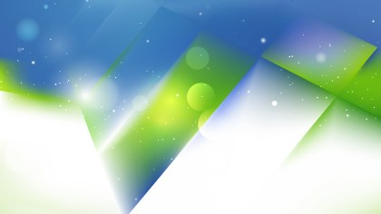 Abstract Blue and Green Background Vector Art
