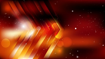 Cool Orange Abstract Background