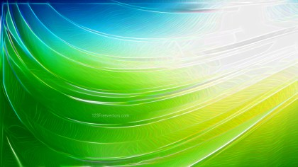 Abstract Blue and Green Texture Background