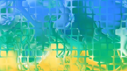 Blue and Yellow Abstract Texture Background