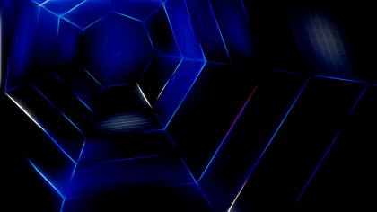 Abstract Cool Blue Texture Background Design