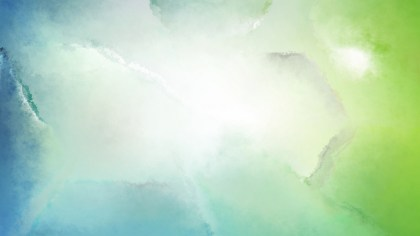 Blue and Green Grunge Watercolor Background Image