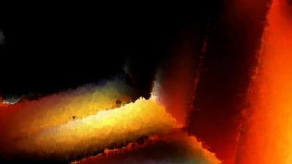 Cool Orange Watercolour Background Texture