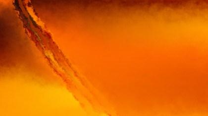 Orange Watercolor Background Image